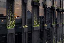 Green facades / roofs