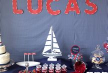 Silk and Cedar Events: Nautical Party / Nautical theme birthday party styled and created by Silk and Cedar Events