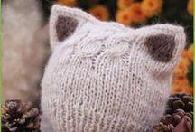 pletení - čepice