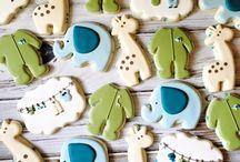Baby Shower - Cookies Boy