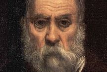 Tintoretto / Tintoretto, born Jacopo Comin, (October, 1518 – May 31, 1594) was an Italian painter and a notable exponent of the Renaissance school. For his phenomenal energy in painting he was termed Il Furioso. His work is characterized by its muscular figures, dramatic gestures, and bold use of perspective in the Mannerist style, while maintaining color and light typical of the Venetian School.