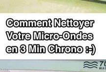 Nettoyage micro ondes