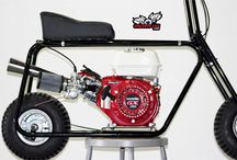 """Hornet Minibike Kit / 5, 6, 8, or 10"""" Wheels, everything you need is included, engine sold seperately"""