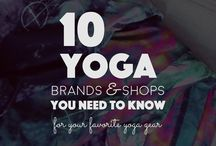 Yoga / Yoga poses and spaces