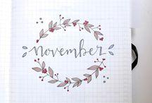 November inspo