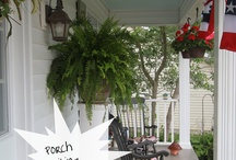 Front porch / by Giselle Monte