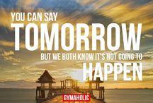 TODAY not tomorow