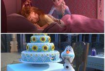 Frozen / Frozen yani Karlar Ülkesi filmini kaç kere izledim ama hala sıkılmadım