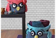 Crochet Bags, Baskets & Home Decor
