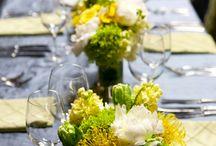 Rustic Elegant Yellow Grey Wedding
