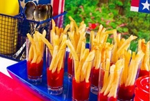 Menus - 4th of July Party Ideas / by Eileen