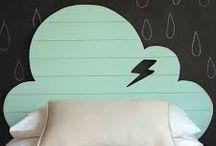 Maddy's Cloud bedroom / Ideas for nursery