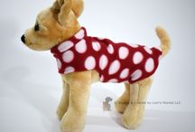 Dog Coats / A warm fleece coat for your dog or puppy!