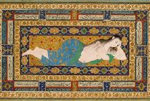 Persian miniature arts / is a book showcasing the metropolitan museum of Arts collection of popular Persian illustrations from the 14th to 17th century.