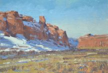 Oil Paintings   Spike Ress / On location (plein air) and studio landscape paintings.