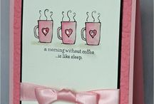 coffee & tea cards / by Paper Alley