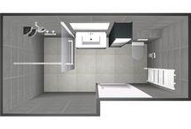 Sanidrome IJsselmuiden Grootebroek Voorbeeld 8 gerealiseerde badkamer en toilet / Sanidrome IJsselmuiden uit Grootebroek toont graag de door hen gerealiseerde badkamer en toilet.