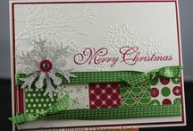 Christmas card class......Stampin'Up / by Sandy Carlson, Stampin' Up Demonstrator