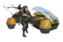 Futurama / They promised us jetpacks!! Visions of the future!