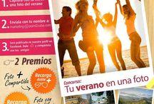 """Concurso de Fotografía """"Tu verano en una foto"""" / Captura con tu móvil una foto del verano. La Foto más Compartida y la Foto con más Likes ganan!!! #verano1foto"""