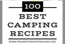 Easy Camping Recipes / Easy camping recipes and camping meal ideas for families. Quick and easy camping cooking tips.