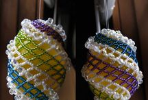 Easter - Beaded Egg Covers / by Bead-Patterns (Sova-Enterprises.com)