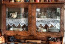 Милый кухонный интерьер )))