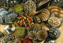 Ζωγραφική σε πέτρες-61