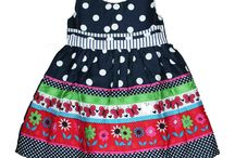 Kids Frock / Cotton frocks are always one of the comfortable and easy to wear for kids ..  www.princenprincess.in brings beautiful and colourful frock and skirt