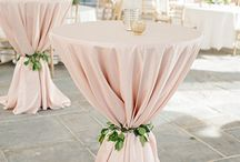 Wedding Cocktail Tables