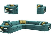 L Shaped Sofas / A living room is incomplete in the absence of an L shaped sofa that happens to be a sectional sofa, designed to complement modern homes. L shaped sofas come in various size. And, are available in different styles such as modern, transitional and contemporary. L shaped sofas are among the most popular and trending sofas amidst well informed buyers. An L shaped sofa offers immense flexibility in terms of style and seating, making them a must have from small to large homes.