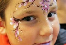 girly face painting ideas