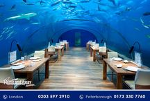 Undersea Restaurant #Maldives