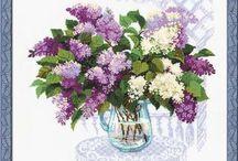 CrossStitch Lilac
