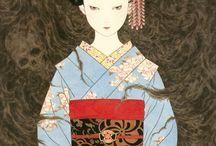 Japanese illustrations