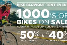 Bike Blowout Event / Don't miss one of the largest bike sales of the year. Save on select bikes and cycling accessories at a Sport Chalet near you. / by Sport Chalet