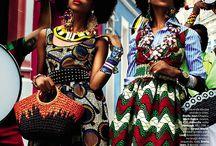 Afro fashion/ afro Glam girl