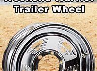 Steel Trailer Wheels / Steel Boat Trailer Wheels, Steel Trailer Wheels in Chrome, Galvanized and Painted.