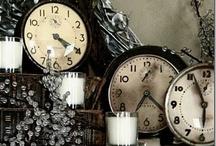 Old mantle clocks