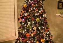 Holiday Trees / Taking a page from my sister-in-law's book. Karl ok'd me leaving our tree up year round.