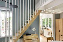 Spilerekkverk trapp