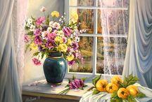 Окно в живописи
