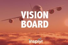Vision Board / Check out this vision board for the best tips and tricks to visualize your goals and success for the future!