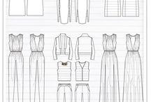 fashion drawings & patterns