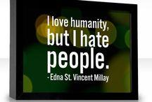 against people / hate