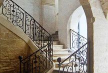 Wrought iron banisters