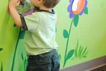 ideas para el salón de niños