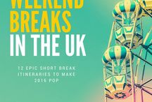 European Weekend Breaks / With travel being so easy in Europe, here are a few ideas for quick trips over the weekend!