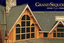 Grand Sequoia / Value Collection Designer Shingles - Patented, extra-large shingle with unique design creates a dramatic visual impact for prestigious homes.