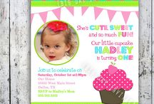 1st Birthday Ideas / Ideas for My Little Miss's First Birthday